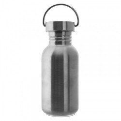 LAKEN CLASSIC THERMO stainless thermo bottle 750 ml black